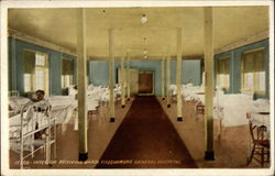 Interior Receiving Ward, Fitzsimmons General Hospital