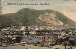 Berlin, N.H. and Mt. Forest from Opera House Block