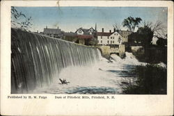 Dam of Pittsfield Mills