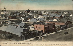 Birds Eye View of New Salem, N. D