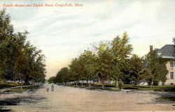 Fourth Avenue and Eighth Street, Great Falls, Mont