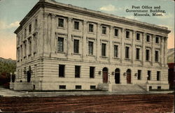 Post Office and government building