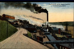 The Great B. & M. Copper Smelter