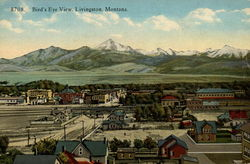 Bird's Eye View, Livingston, Montana
