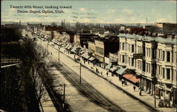 Twenty-fifth Street, looking toward Union Depot