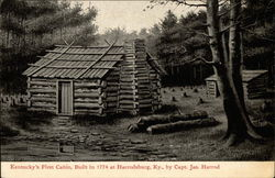 Kentucky's First Cabin Harrodsburg, KY