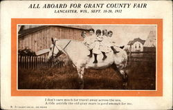 All Aboard For Grant County Fair