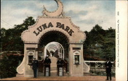 Nay Aug Entrance to Luna Park