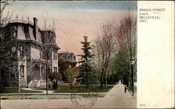 Bridge Street East, Belleville, Ont Postcard