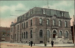Post Office, Windsor, Canada Postcard