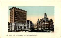 City Hall and Union Bank of Canada