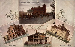 Mounted Rifles, Post Office, Hospital, and Alexandra School