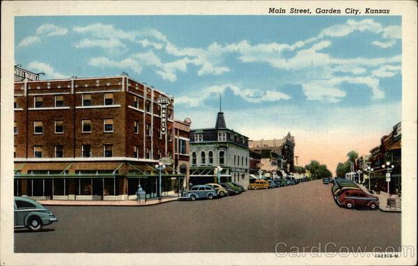 Hotels In Garden City Ks >> Main Street Garden City, KS