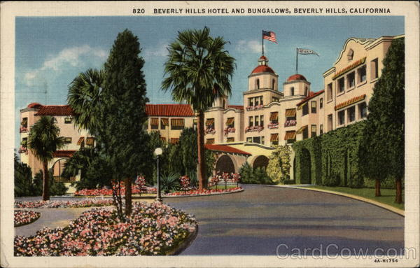 Beverly Hills Hotel and Bugalows California
