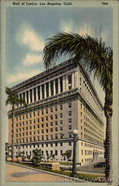 Hall of Justice Los Angeles California