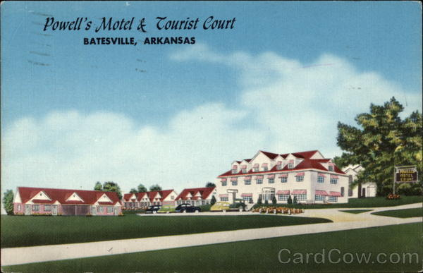 Powell's Motel & Tourist Court Batesville Arkansas