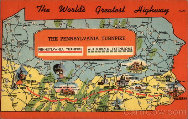 The Worlds Greatest Highway - The Pennsylvania Turnpike