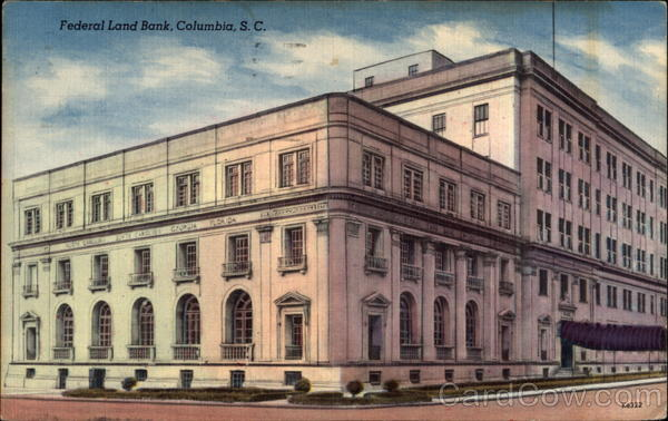 Federal Land Bank Columbia South Carolina