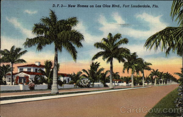 New Homes on Las Olas Blvd Fort Lauderdale Florida