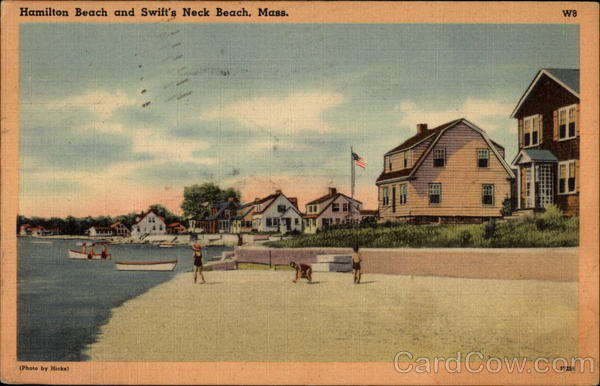 Hamilton Beach and Swift's Neck Beach Massachusetts