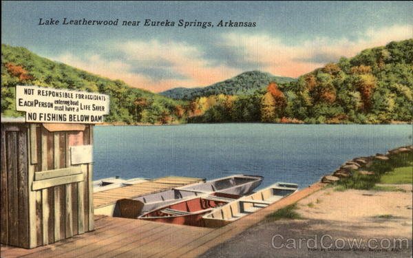 Lake Leatherwood Eureka Springs Arkansas