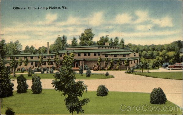 Officers' Club Camp Pickett Virginia