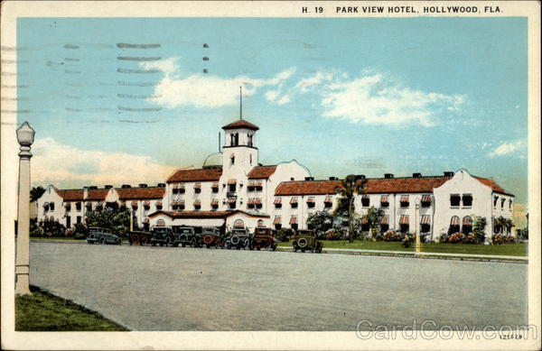 Park View Hotel Hollywood Florida