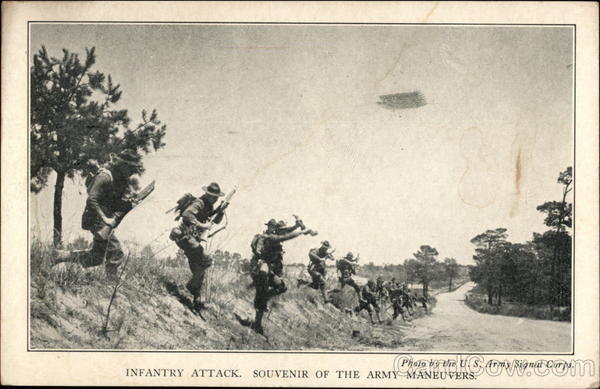 Infantry Attack, Souvenirr of the Army Maneuvers