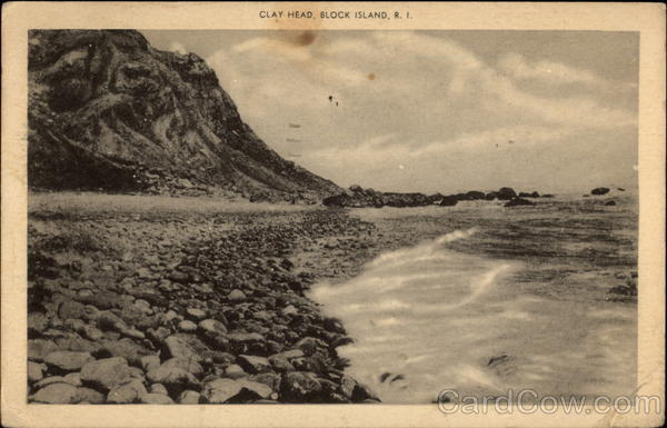 Clay Head, Block Island, R. I Rhode Island
