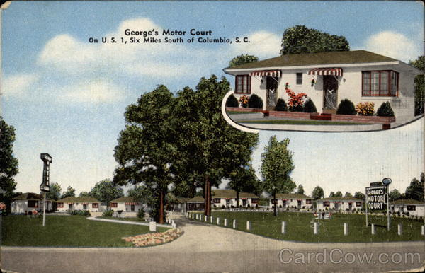 George's Motor Court Columbia South Carolina