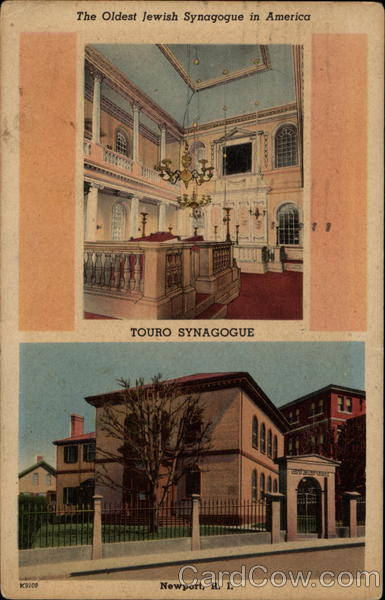 The Oldest Jewish Synagogue in America - Touro Synagogue Newport Rhode Island