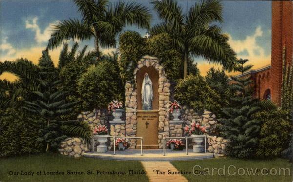 Our Lady Of Lourdes Shrine St Petersburg Fl