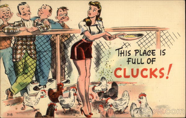 This Place is Full of Clucks! Comic, Funny