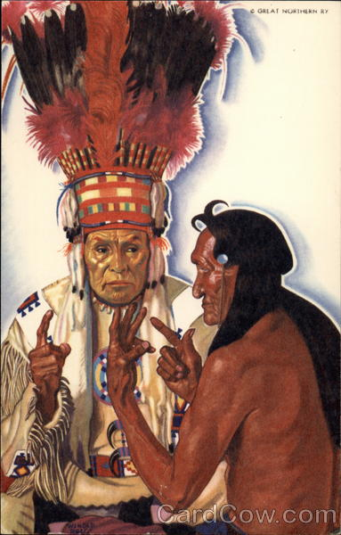 The Sign Talkers Native Americana