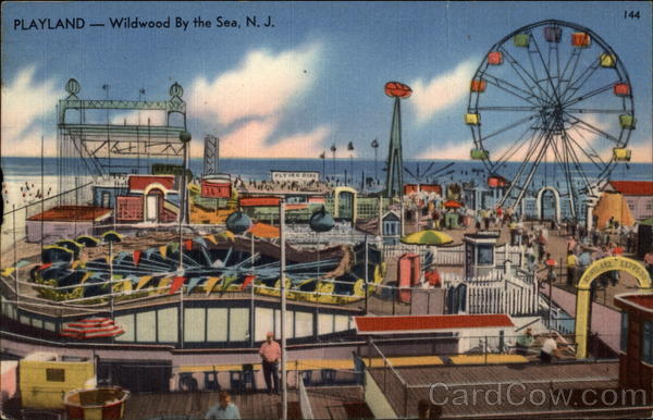 Playland Wildwood New Jersey Amusement Parks