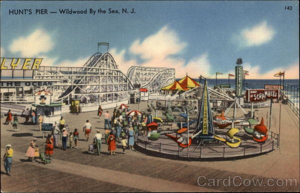 Hunt's Pier Wildwood-By-The-Sea New Jersey