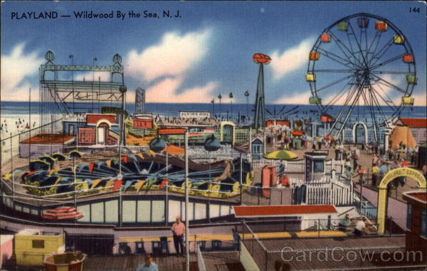 Playland Wildwood-By-The-Sea New Jersey