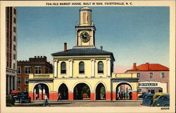 Old Market House, Built in 1838 (F34) Postcard