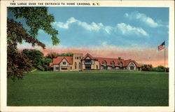 The Lodge Over the Entrance to Howe Caverns, N. Y