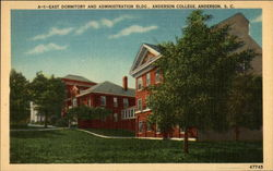East Dormitory and Administration Bldg., Anderson College