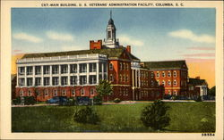 Main Building Postcard