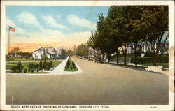South West Avenue Showing Legion Park