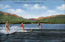 Water Skiers on Pineview Lake