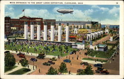Main Entrance to the Great Lakes Exposition