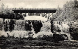 Lower Falls, Gooseberry Falls State park Postcard