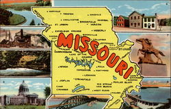 "The ""Show Me"" State Postcard"