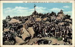 Easter Sunrise Services on Mt. Rubidoux