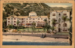 St. Catherine Hotel, Descanso Beach Postcard