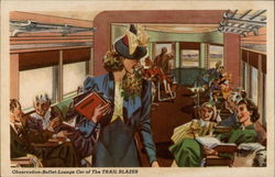 Observation-Buffet-Lounge Car of The Trail Blazer