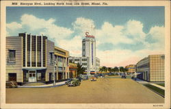 Biscayne Blvd., Looking North from 12th Street